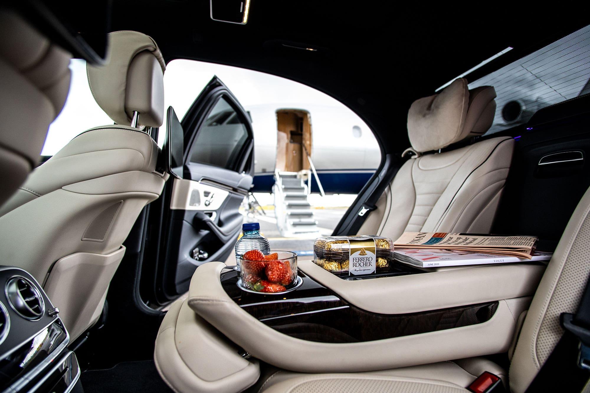 Luxe vervoer / Luxury transport