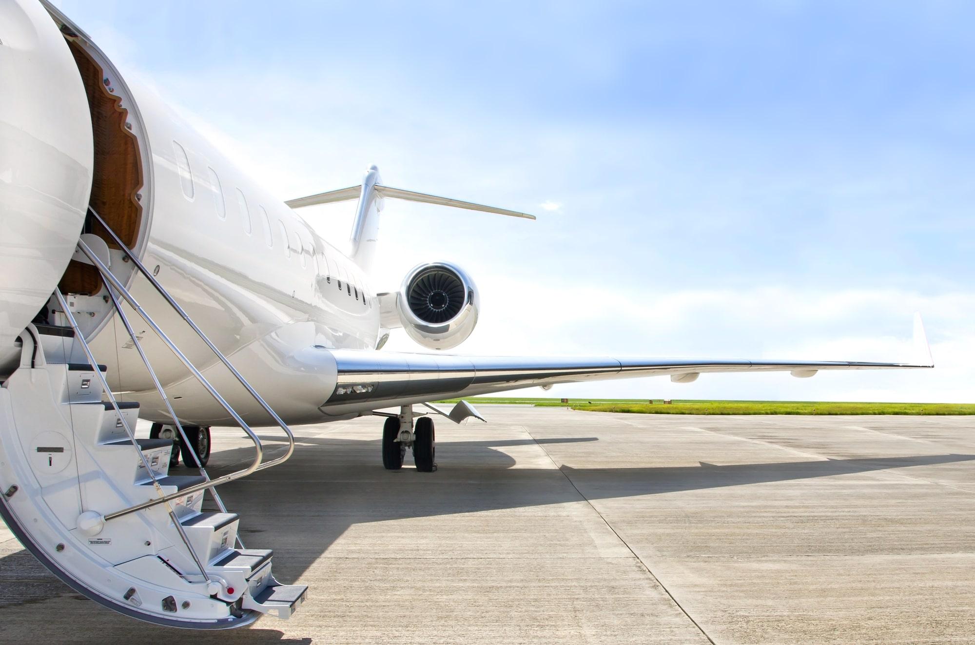 Private jet huren / Private jet charter