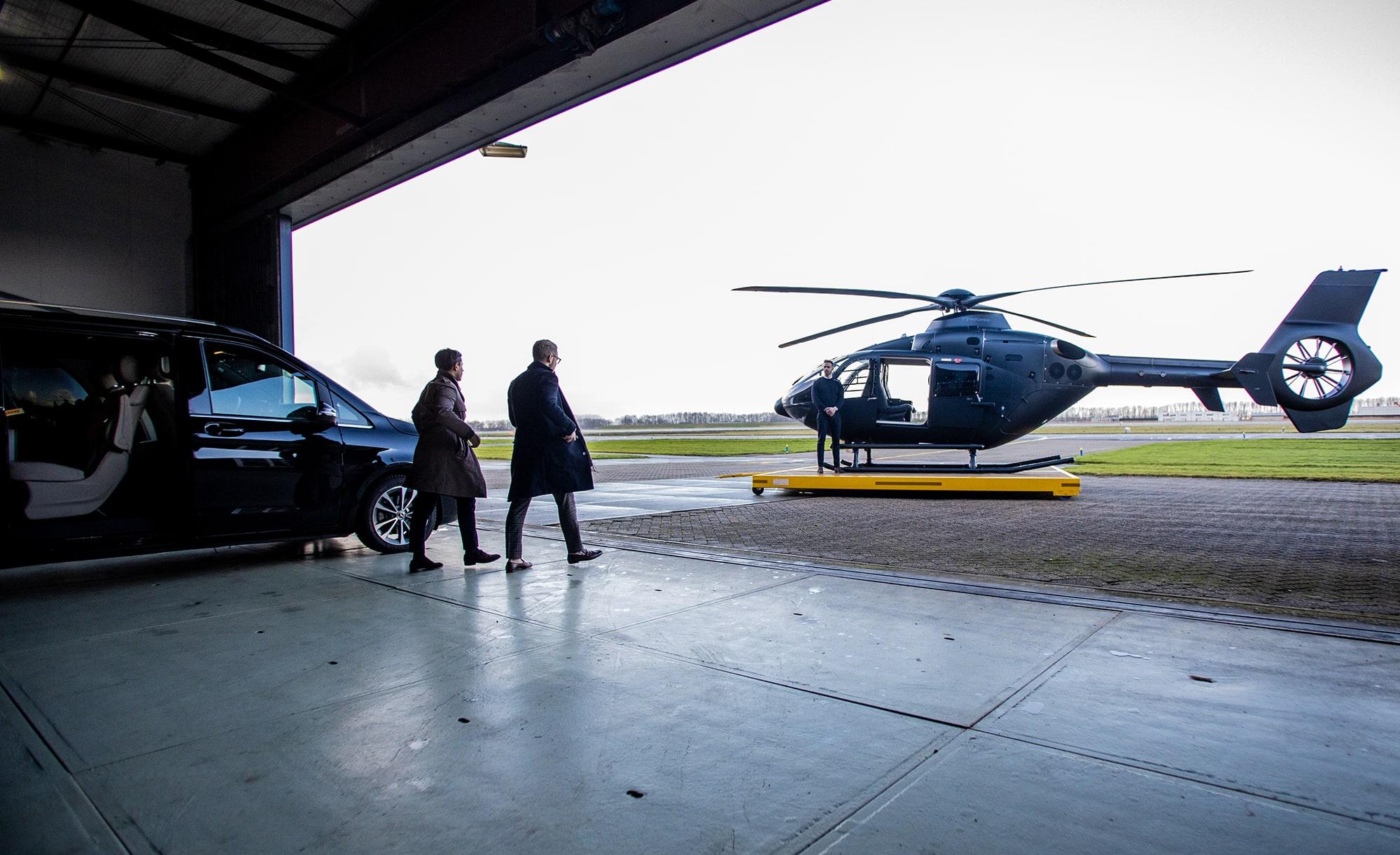 Helikopter huren | Helicopter charter | Infinite Risks